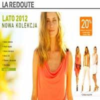 20% znizki na modne ubrania la redoute