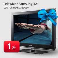Telewizor Samsung za 1 zł w promocji wakacyjnej od N