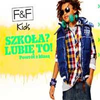 promocja na ubrania dla dzieci F&F Kids