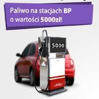 Wygraj 5000 zł w bonach na paliwo do stacji BP