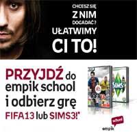 Zapisz się na kurs językowy i odbierz grę Fifa 13 lub Sims 3