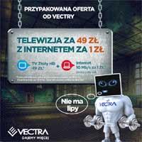 vectra internet i telewizja