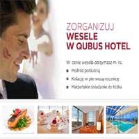 Zorganizuj taniej wesele w hotelu Qubus