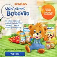 BoboVita wygraj 1000 zł i jedzenie dla maluszka