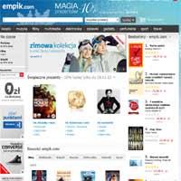 Książki tańsze o 10% w promocji na święta Empik