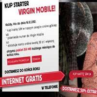 Virgin Mobile darmowy internet