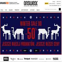 Answear zimowa obniżka cen na ubrania