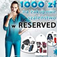 Reserved zimowy konkurs