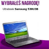 Wygraj Ultrabook Samsung 530U3B za darmo
