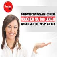 SpeakUP promocja