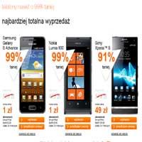 Orange smartfony nawet o 99% taniej