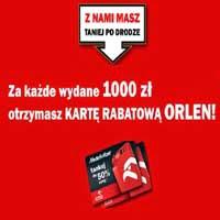 Karta rabatowa Orlen za darmo do zakupów w Media Markt