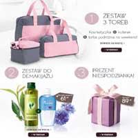 Yves Rocher zestaw toreb i kosmetyki w prezencie