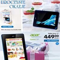 Biedronka tablet Acer Iconia dostępny w promocyjnej cenie