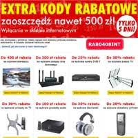 Euro RTV AGD extra kody
