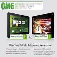 Plus OMG tablet z Internetem w niższej cenie