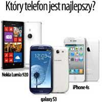 Wybierz najlepszy telefon i wygraj