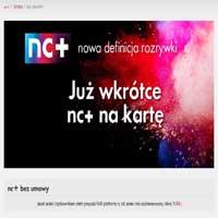 NC Plus na karte
