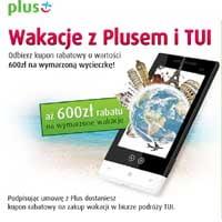 Odbierz rabat na wakacje od Plusa i TUI