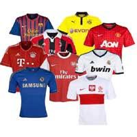 Wygraj koszulkę piłkarską swojej ulubionej drużyny