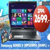 Komputronik promocja na notebooki Samsung