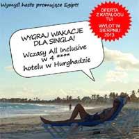 Wygraj wycieczkę do Egiptu z katalogu TUI