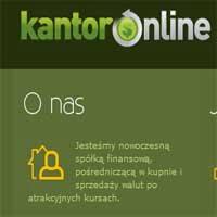 Kupuj walutę taniej i sprzedawaj drożej Kantor Online