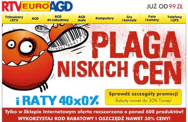 RTV Euro AGD plaga niskich cen