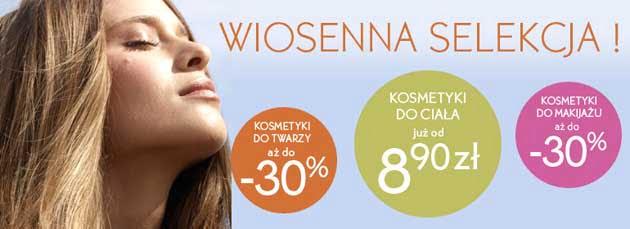 Wiosenno-letnia selekcja w Yves Rocher, kosmetyki taniej nawet o 30%