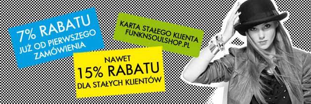 Funk n Soul rabaty na zakupy