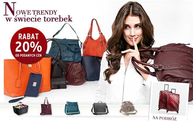 Rabat na torebki damskie w sklepie Tchibo