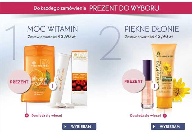 Yves Rocher prezenty do każdego zakupu na wrzesień 2013