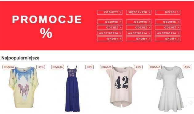 Światowe marki ubrań taniej w Zalando