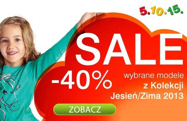 Kolekcja ubrań jesień, zima 2013 w promocji, w sklepie 5.10.15