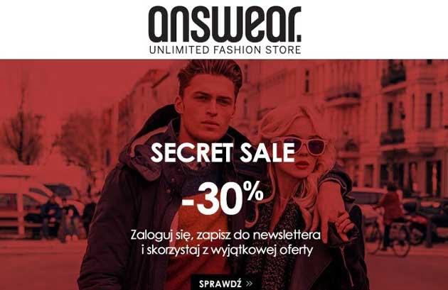 Answear Secret Sale