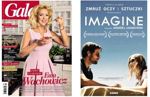 """Magazyn Gala z dodatkiem na DVD film """"IMAGINE"""""""