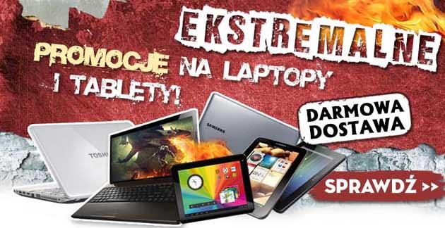 Promocja na laptopy i tablety z darmową dostawą w Agito
