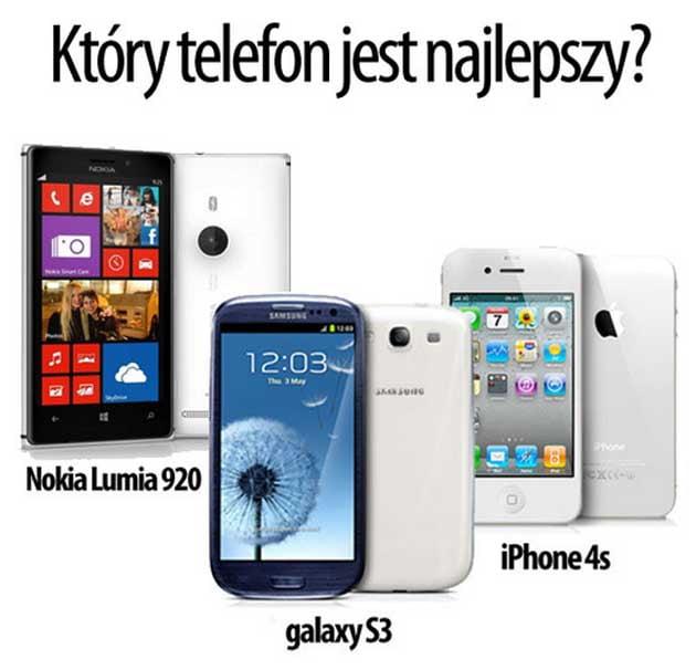 smartfony konkurs