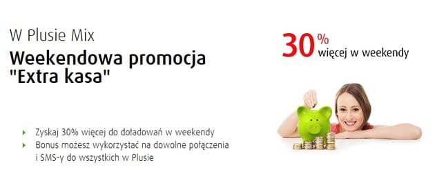 Weekendowa promocja w Plusie Mix
