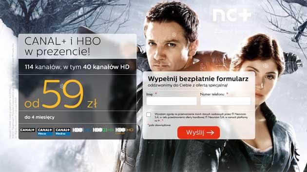 Świąteczna promocja NC Plus na telewizję cyfrową