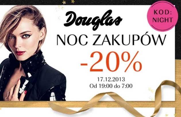 Nocna wyprzedaż tylko dziś w perfumerii Douglas