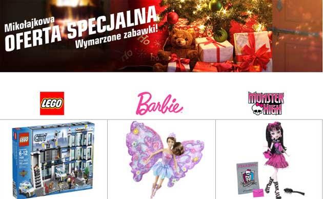 Redcoon świąteczna promocja na zabawki dla dzieci