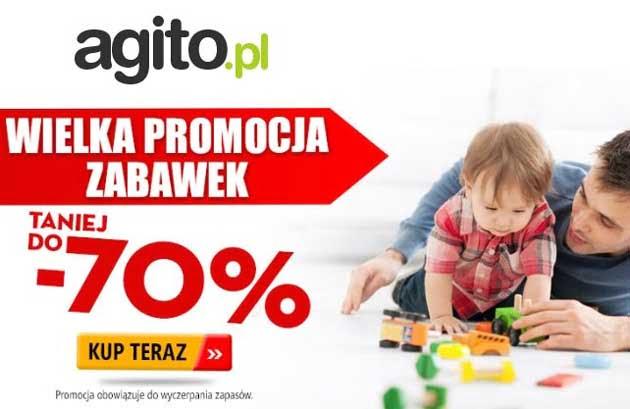 Agito promocja zabawki