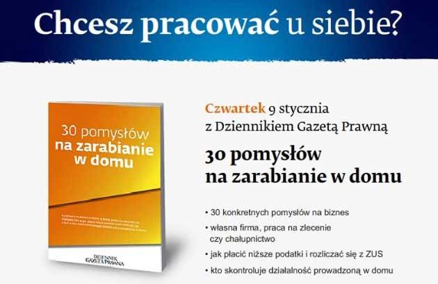 """Gazeta Prawna z dodatkiem """"Jak zarabiać w domu"""""""