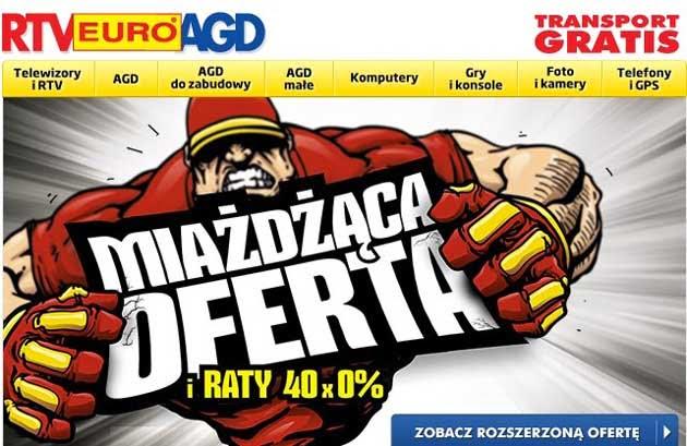 Miażdżąca oferta w RTV Euro AGD skorzystaj z kodu rabatowego