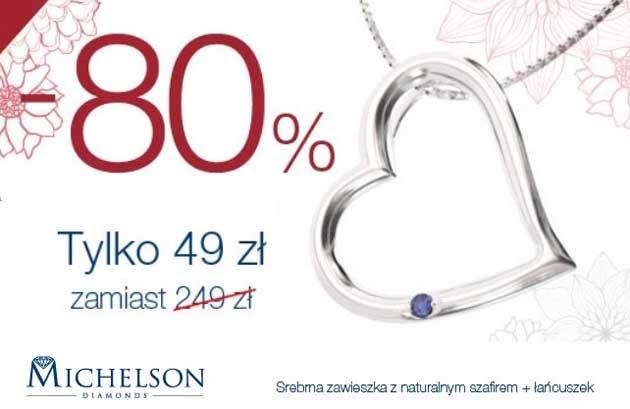 Promocja biżuterii na walentynki w Michelson Diamonds