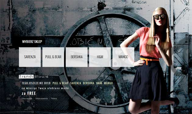 Wygraj kupony rabatowe do H&M, Bershka i inne w konkursie Trends House