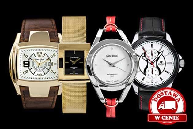 Zegarki Gino Rossi w promocji na serwisie Gruper