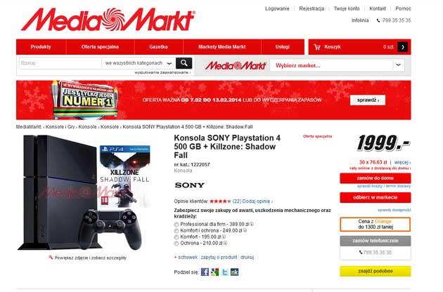 Playstation 4 Media Markt