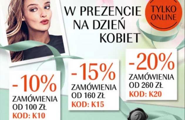Rabaty na kosmetyki i perfumy w Douglas na dzień kobiet